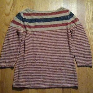 Lightweight linen 3/4 shirt